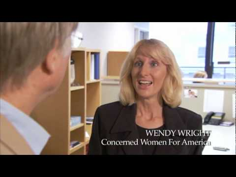 Richard Dawkins Interviews Creationist Wendy Wright (Part 1/7)