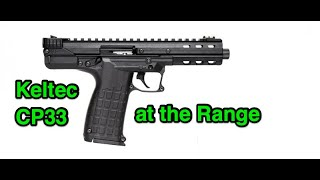 Keltec CP33 Pistol - SHOT Show 2019 Industry Day at the Range