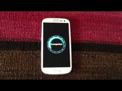 Update Samsung Galaxy S3 to Android 4.1.2 CyanogenMod 10