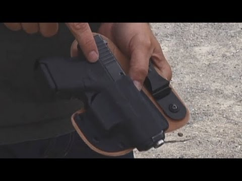 Personal Defense Tips: Accessories - Leather Kydex Combo Appendix Holster