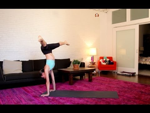Strength Building Handstand Yoga Flow