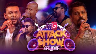 FM Derana Attack Show Studio | Sahara Flash vs FeedBack