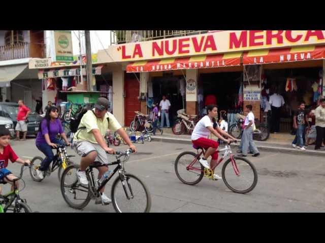 Paseo Familiar Ciclista de Tamazunchale, S.L.P. 24-02-13  (1)