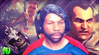 Injustice 2 Walkthrough Gameplay Part 10  Chapter 10  Batman Amp Superman Story Mode