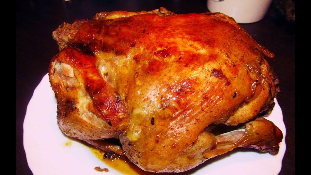 Запечённая курица в духовке целиком в фольге рецепт