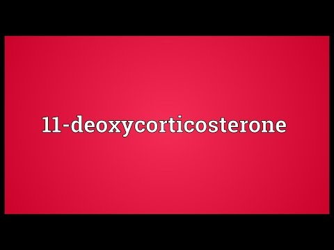 Header of 11-Deoxycorticosterone