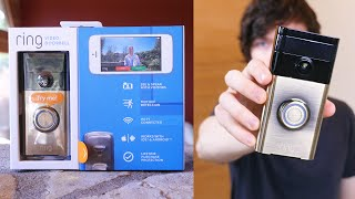 The Best Smart Home Doorbell (Ring Video Doorbell & Ring Chime Review)