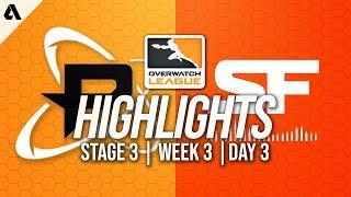Philadelphia Fusion vs San Francisco Shock   Overwatch League Highlights OWL Stage 3 Week 3 Day 3