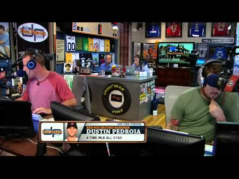 Dustin Pedroia on the Dan Patrick Show 9/12/13