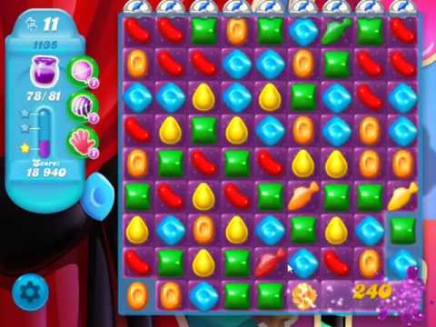 Candy Crush Soda Saga Level 1135 - NO BOOSTERS