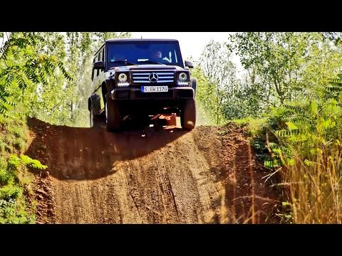 Mercedes G-Class (2016) G500 Off-Road Test [YOUCAR]