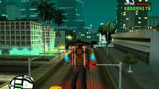 GTA san andreas- MAGIC FLYING CAR OF WONDER!