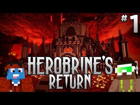 Herobrine's Return with Biggs87 #1 - And so it Begins...Again!