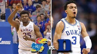 Kansas vs Duke: 2019 Basketball Game Preview