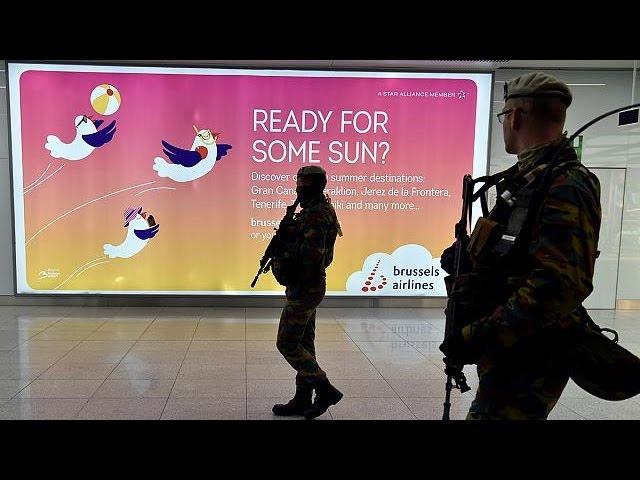 Aeroporto de Bruxelas reabre parcialmente