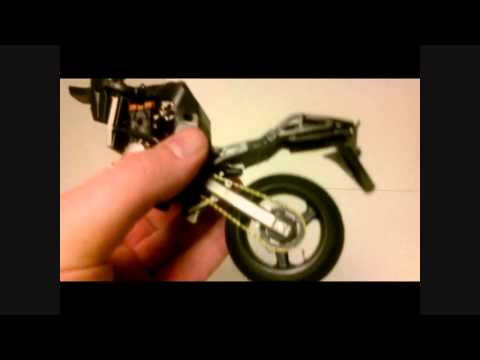 Kawasaki Ninja ZX-12R Tamyia 1/12 scale model Review