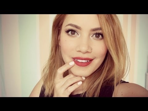 Lippenstift länger haltbar machen - YouTube