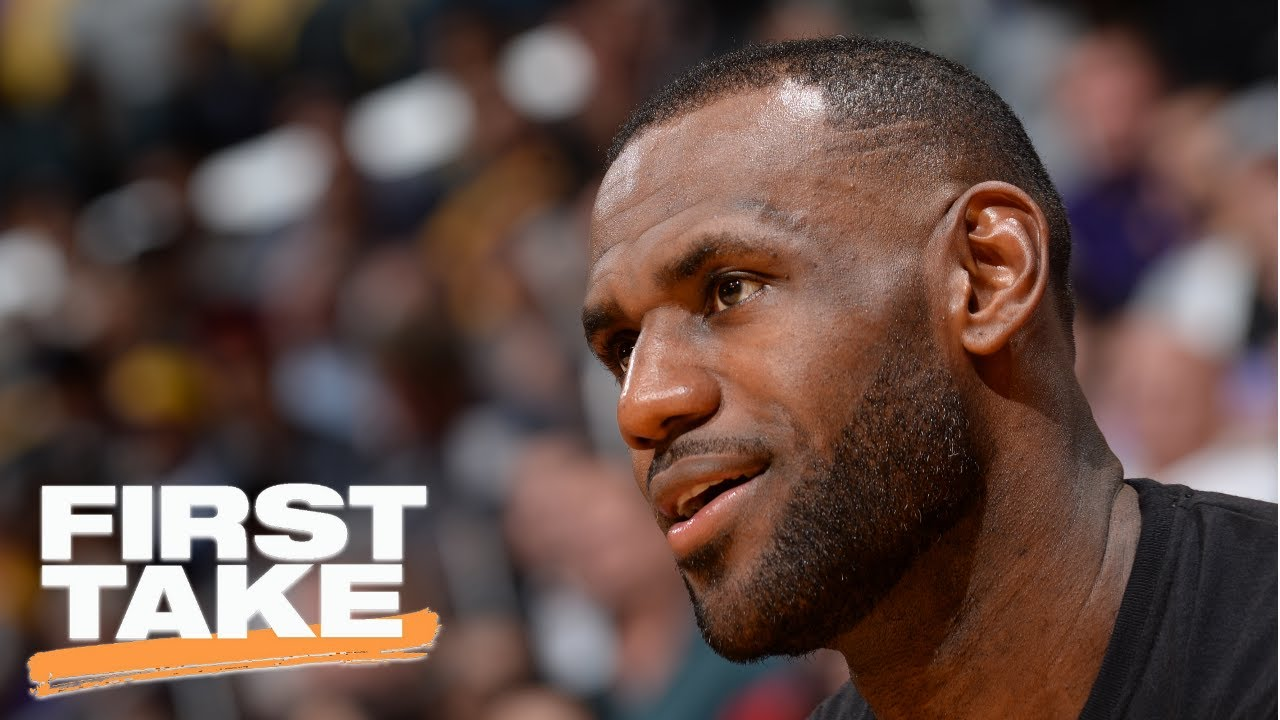 First Take Reacts To LeBron James' Agent Talking To Lakers | First Take | July 19, 2017