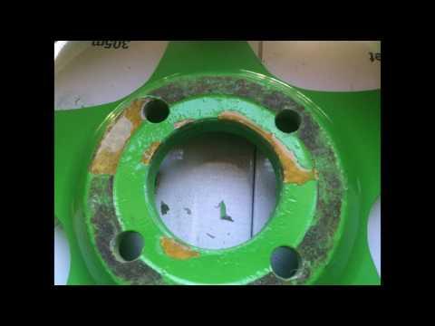 Как я кованные диски восстанавливал ;-)