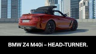 The all-new BMW Z4 M40i - Head-Turner.