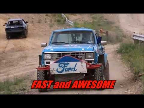 Fast And Awesome - Snow Shoe Mud Races Part Two 2014
