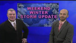 Weekend Winter Storm Update - Wednesday