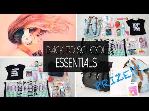 Back to School Essentials | ANNEORSHINE