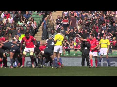 ARU  Army vs Navy Highlights 27-4-13