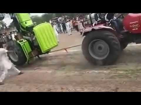 Power Of Tractors Accident In Punjab video