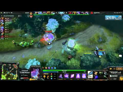 Quantic Gaming vs Mousesports Game 3   RaidCall EMS One Summer DOTA 2 Cup #3   TobiWan