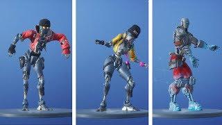 ROBOT Skins Dancing ROBOT Emotes (Rebel, Revolt, A.I.M. - OVERDRIVE & THE ROBOT)
