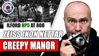FILM PHOTOGRAPHY - CREEPY MANOR - ZEISS IKON NETTAR