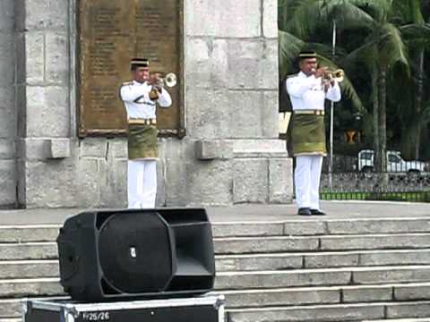 The Last Post at Remembrance Sunday (Multi-faith) Service, Malaysia's National Monument, 14 Nov 2010