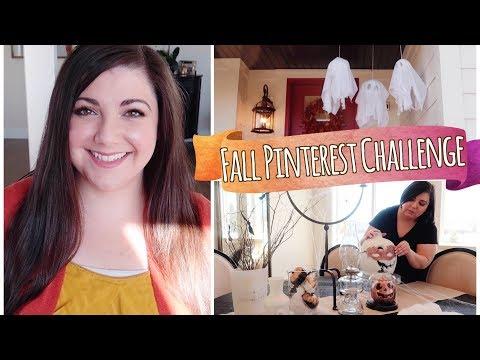 DIY Halloween Decor   Fall Pinterest Challenge