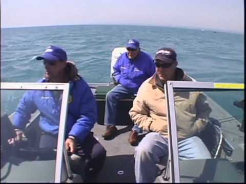 MidWest Outdoors Walt and Poppee Perch Fishing on Lake Michigan