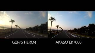 GoPro HERO4 & AKASO EK7000 4K Comparative test.