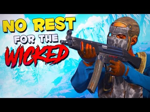 NO REST FOR THE WICKED! - Rust Funny Moments