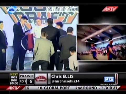 2012 PBA DRAFT on AKTV | Picks 5-6