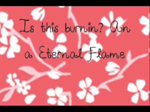Eternal Flame By :candice Accola (caroline Forbes - Tvd) Lyrics! video