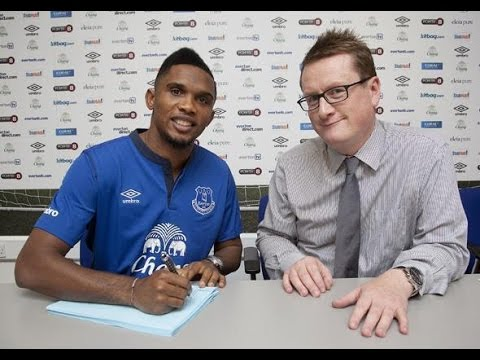 Samuel Eto'o | Welcome to Everton | Goals and Skills | 2014 | HD