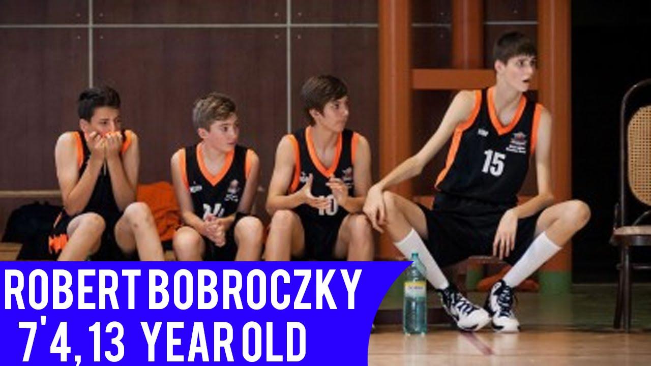 13 yaşındaki dev basketçi