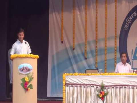 Jitendra Bhagwat Speech At Vishwas Nangare Patil Event video