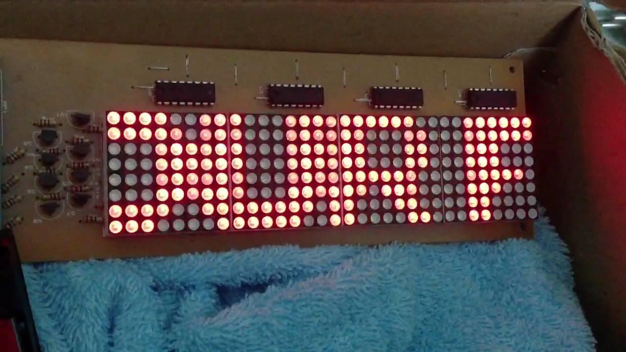 Arduino Playground - LEDMatrix
