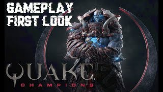 Quake Champions - Gameplay First Look