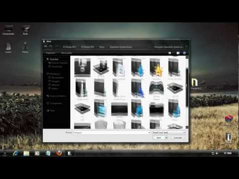Tutorial Installation U-7imate Theme for Windows 7 x86 x64. Including DLLs. Icons and Take OwnerShip