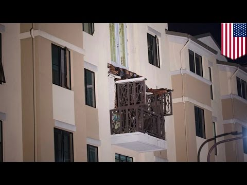 Building collapse: balcony disintegrates, kills five people in Berkeley, California - TomoNews