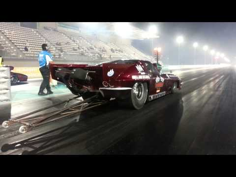 Super shop Kuwait racing team corvette pro mod run