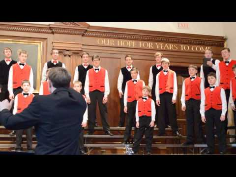 The Bonifantes Boys' Choir at The Roxbury Latin School_1 - 03/03/2014