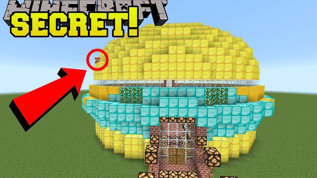 Minecraft: FAST FOOD SECRET!?! - Find The Button Wonders - Custom Map [1]