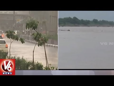 Heavy Rains In Telangana State | Rains To Continue For Next 24 Hours | V6 News